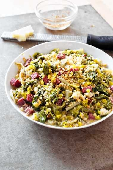 """Utica Greens, from """"Cook's Country Eats Local,"""" by America's Test Kitchen."""