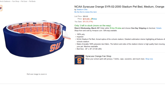 23427650b 19 pieces of Syracuse basketball merchandise you didn't know you ...
