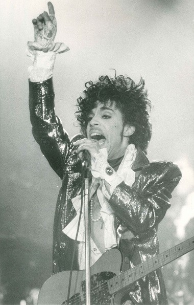 Prince performs at the Carrier Dome on March 30, 1985.