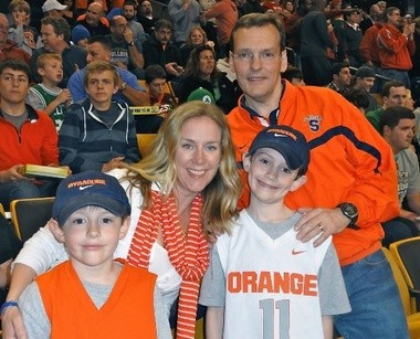 John Wildhack has maintained a strong connection to Syracuse throughout his professional life.