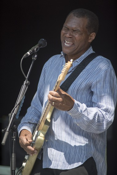 Robert Cray performs at the NYS Fair on Sunday, Sept. 4.