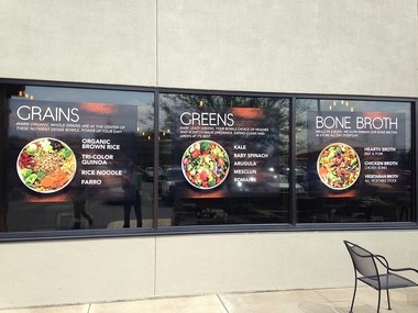 """CoreLife Eatery builds its menu based on greens, grains and bone broth for people with """"active healthy"""" lifestyles."""