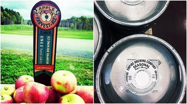 Apple Harvest Ale is a new collaboration between Empire Farmstead Brewery in Cazenovia and Beak & Skiff Apple Orchards of LaFayette.