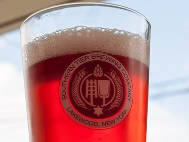 Cherry Gose, from Southern Tier Brewing Co., Lakewood