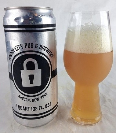 Mass Riot IPA from Auburn's Prison City Brewing Co.