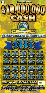 Upstate NY couple wins $10M in scratch-off game