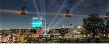 A rendering of the new State Fair gondola.
