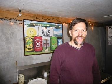 Chuck Williamson, owner and brewer at Butternuts Beer and Ale of Garrattsville, N.Y.