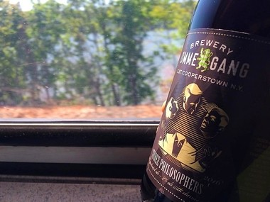 Three Philosophers Quadrupel, the beer entered by Brewery Ommegang of Cooperstown in the first Taste NY Craft Beer Challenge.
