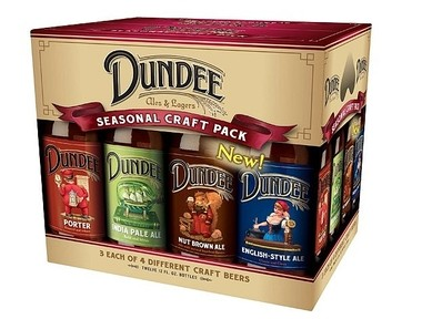 Dundee Ales & Lagers, a craft beer line from the Genesee Brewery in Rochester, was known for its seasonal variety packs.