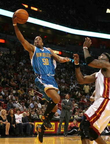 Antonio Daniels spent 13 years in the NBA with seven teams including the New Orleans Hornets. Daniels will be a guest speaker at Syracuse's Sportscaster U this weekend.