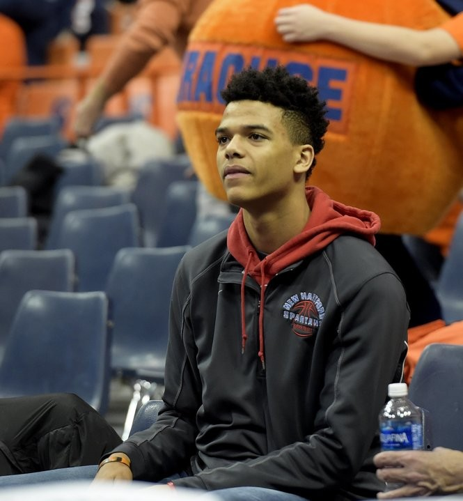 New Hartford's Frankie Policelli was at the St. John's game on Wednesday night, Dec. 21, 2016 at the Carrier Dome. (Stephen D. Cannerelli | scannerelli@syracuse.com)