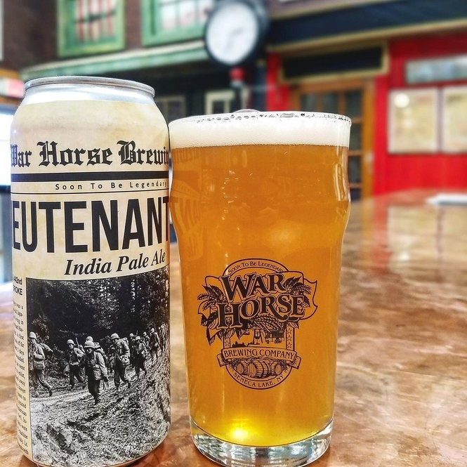 Lieutenant Dan from War Horse Brewing Co. near Geneva was one of three medal winners from that brewery in the first New York Craft Beer Competition. No other brewery won as many medals.