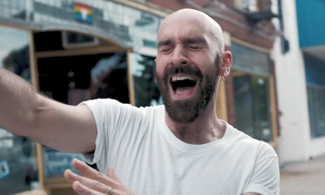 """Ithaca native, singer Sam Harris appears in the music video for X Ambassadors' """"Ahead of Myself,"""" filmed near Rochester, N.Y."""