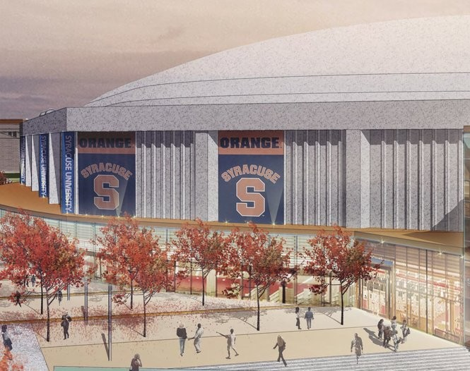 With Carrier Dome Renovation On Deck Compare 14 Recent