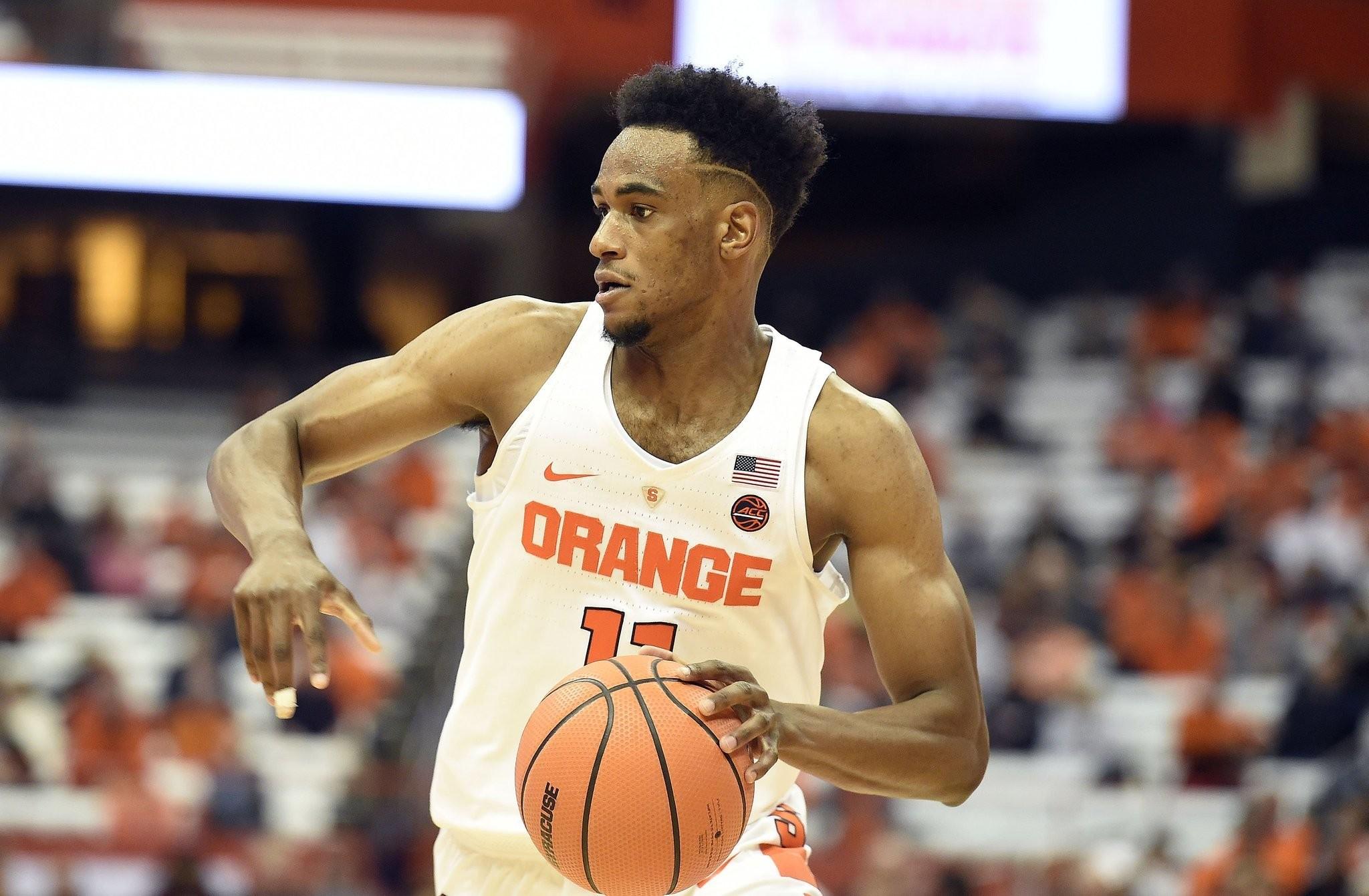 Syracuse Basketball Freshman Oshae Brissett Fights Nerves