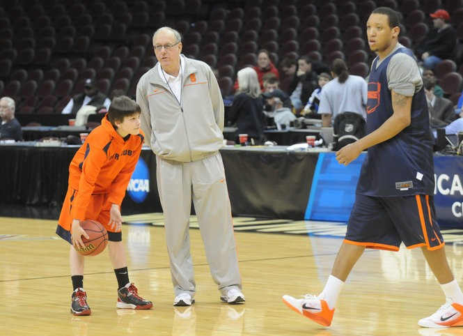 Jimmy Boeheim Is Proud To Be His Father S Son But Seeks His Own Identity At Cornell Syracuse Com