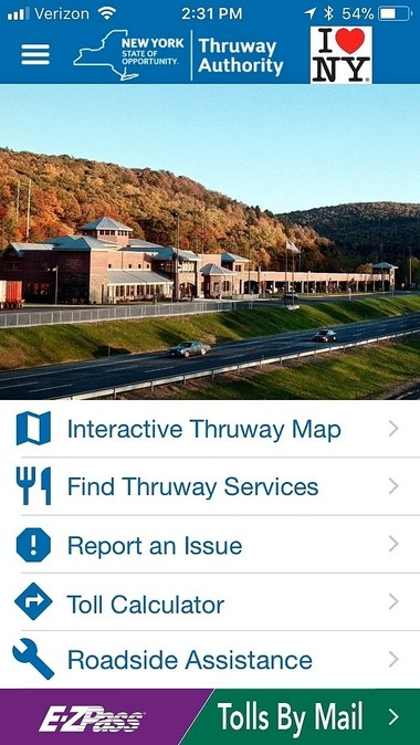 Thruway launches app with interactive map of 570-mile NY