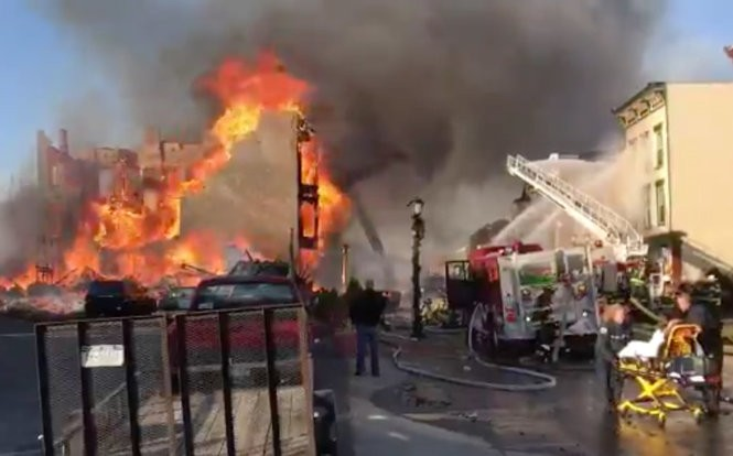 Cohoes fire: Upstate NY man sparks massive blaze while