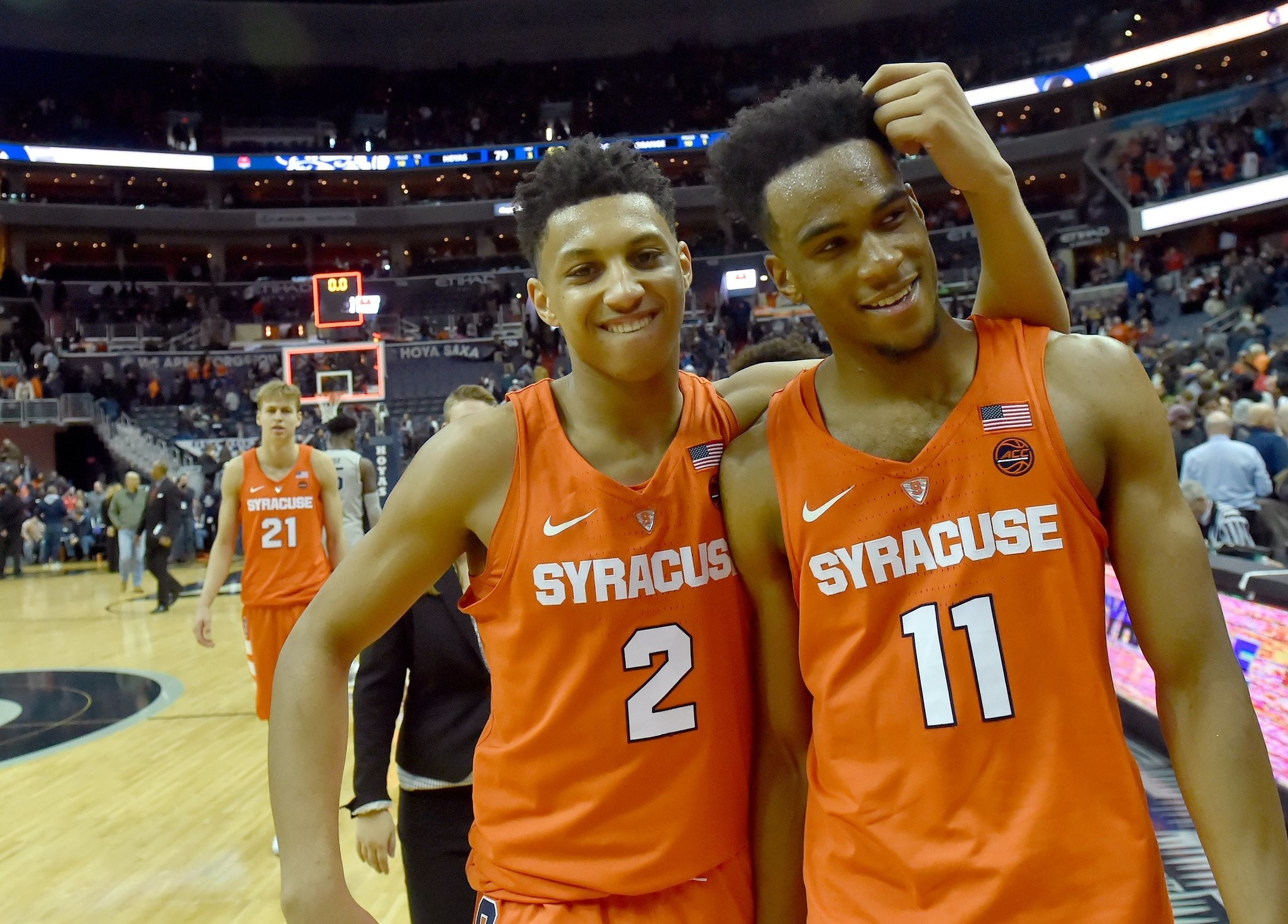 Oshae Brissett Made Syracuse Basketball History In Win Over