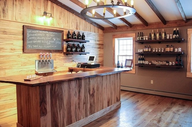 The 4 Corners Tap Room in the Nelson Farms Country Store at 3261 Route 20 in Nelson, Madison County.