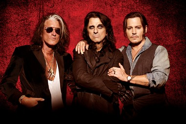Supergroup Hollywood Vampires, which includes Alice Cooper, Johnny Depp and Joe Perry, are returning to Turning Stone Resort & Casino in Verona.