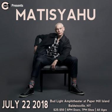 Paper Mill Island in Baldwinsville adds Matisyahu to 2018