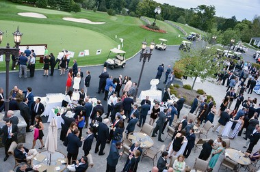 The 9th Annual Eric Trump Foundation Golf Invitational Auction & Dinner at Trump National Golf Club Westchester on September 21, 2015 in Briarcliff Manor, New York.