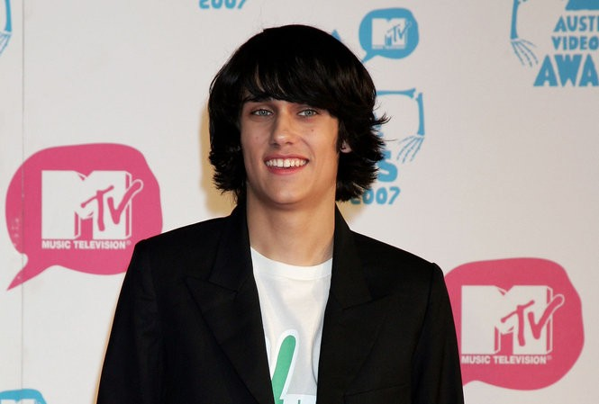 Singer Teddy Geiger arrives on the red carpet at the third annual MTV Australia Video Music Awards 2007 at Acer Arena on April 29, 2007 in Sydney, Australia.