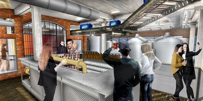 Rendering of the tasting room at the Labatt House, 79 Perry St. in downtown Buffalo's Cobblestone District. It's scheduled to open in November 2018.