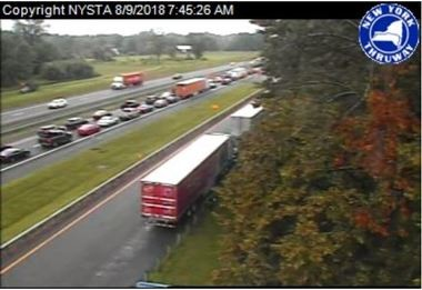 Marble countertops spill from truck after NYS Thruway crash