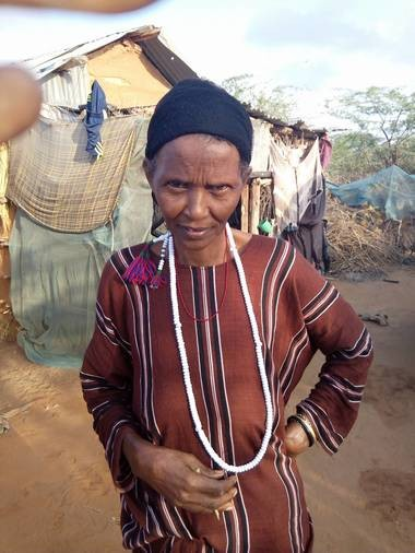 Sangabo Samow has been living in a refugee camp in Kenya for more than 20 years. Her son, Salat Ali, plans to visit her next month for the first time in 13 years.