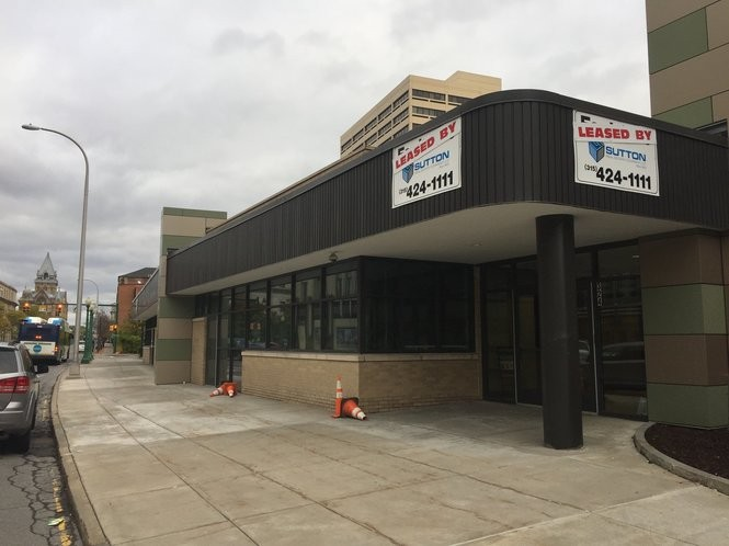 Talking Cursive Brewing Co,. plans to open early in 2019 in this location at 301 Erie Blvd. W., next ot Cafe Kubal and across from the National Grid (Niagara Mohawk) building.