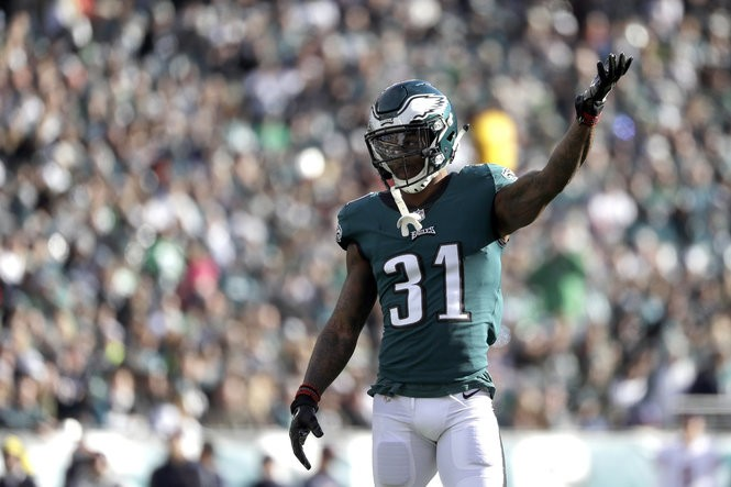 cheap for discount 18b00 9af18 Eagles' Jalen Mills talks matchup with Russell Wilson, Doug ...
