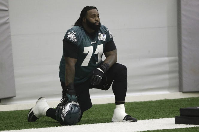 6070cdfcaf9 Eagles 2018 Preview: How much does Jason Peters have left? Offensive line  breakdown