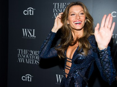 Brazil has just given us one more reason to watch the World Cup: Gisele Bundchen. (Photo by Charles Sykes/Invision/AP)