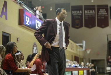 Wendell Hudson was 13-18 (2-14 SEC) in his fifth and final season as the head coach of the Alabama women's basketball team. (AL.com/Vasha Hunt)