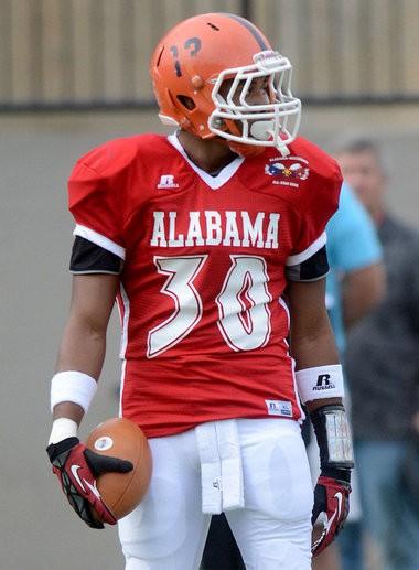 ArDarius Stewart is expected to play slot receiver at Alabama. (Julie Bennett/jbennett@al.com)
