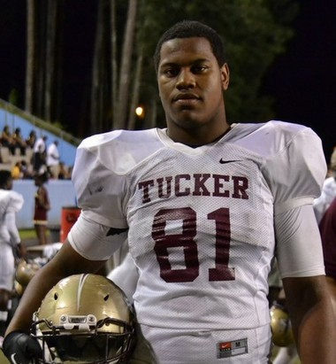 Jonathan Ledbetter is a four-star defensive tackle from Tucker, Georgia. (Photo courtesy of 247Sports)
