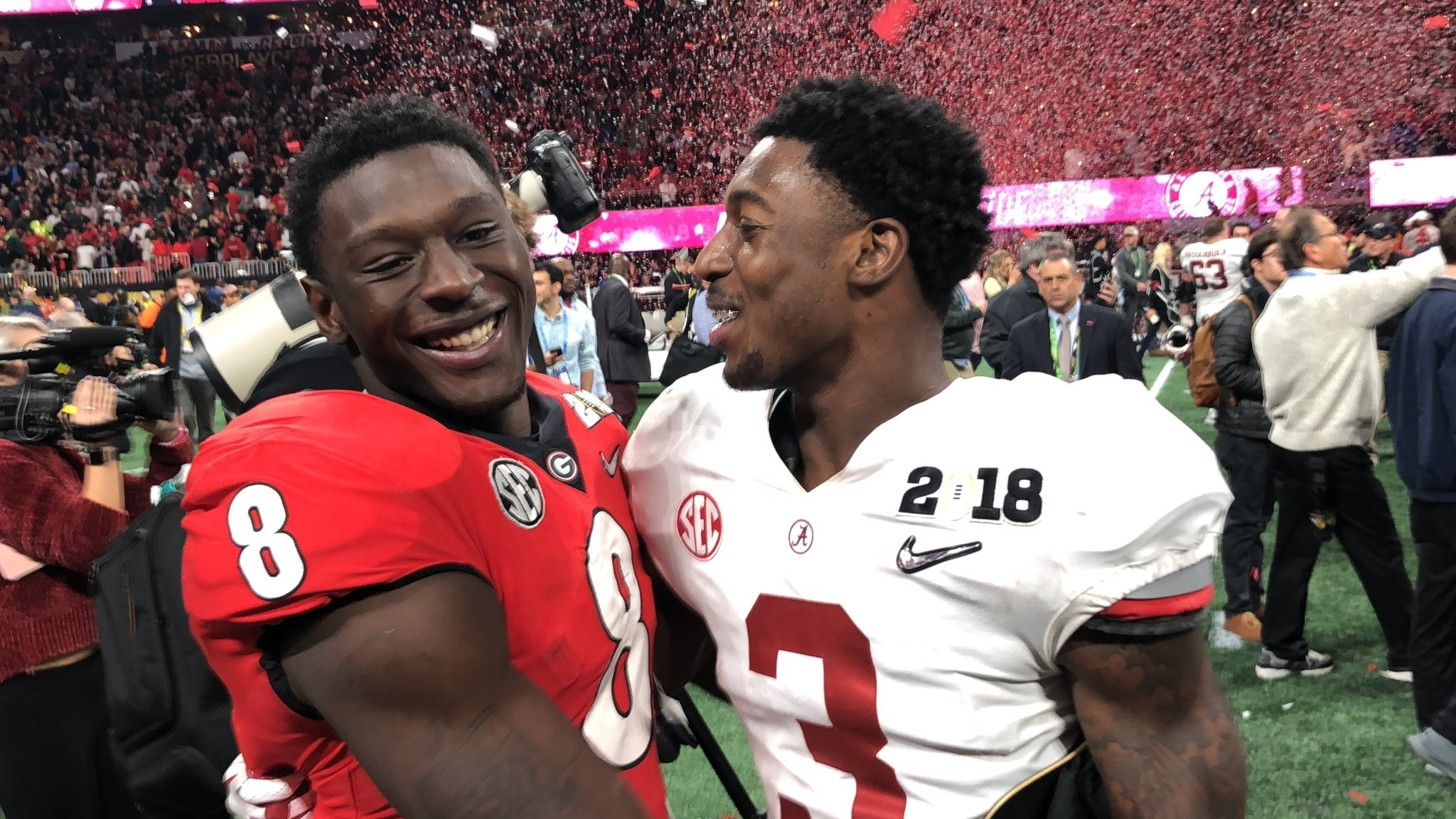 Calvin Ridley Shares Special Moment With Brother After Nutty National Title Duel Al Com