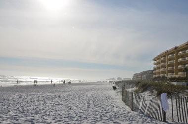 The beach at Destin, near the Shirah Street public access point. (Dennis Pillion / al.com)