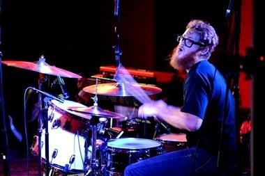 Dexateens drummer Brian Gosdin, above, joins Elliott McPherson in Rattler's live debut at the Syndicate Lounge in Birmingham on Friday night. (Ben Flanagan/al.com)