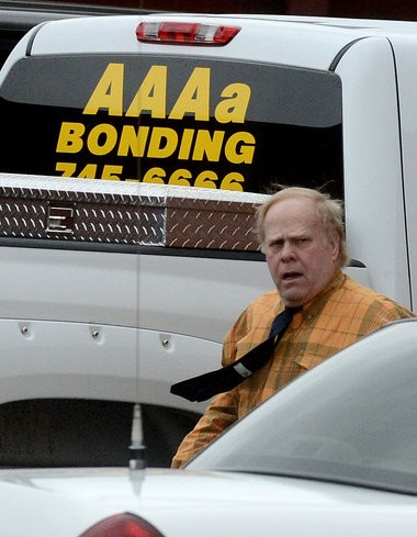 Harvey Updyke Jr., seen here Feb. 13, is scheduled to be released Monday from the Lee County jail after serving the remainder of a 6-month sentence for poisoning the Toomerâs Oaks. (Julie Bennett / jbennett@al.com)