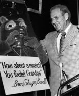"""""""Bear"""" meets bear (again): University of Alabama football coach Paul """"Bear"""" Bryant comes face-to-face with an old nemesis on Sept. 12, 1972, but they didn't wrestle."""