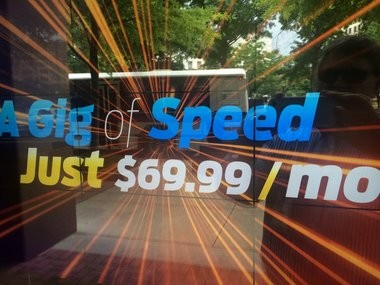 What it costs to have 1 gig of Internet speed in Chattanooga and the surrounding area. (Lee Roop/LRoop@al.com)
