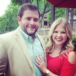 Drew Clayton proposed to his now-fiancee, Kayla Posey, in Nick Saban's office back in May.