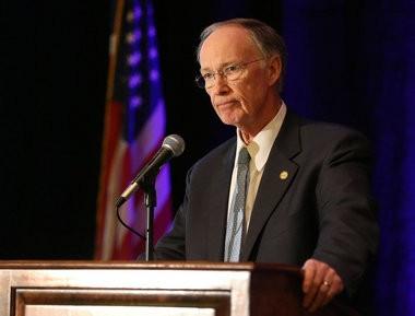 Alabama Gov. Robert Bentley last week in Mobile