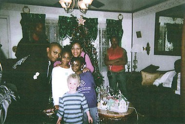 Terrance Wilson with his family (Contributed photo)