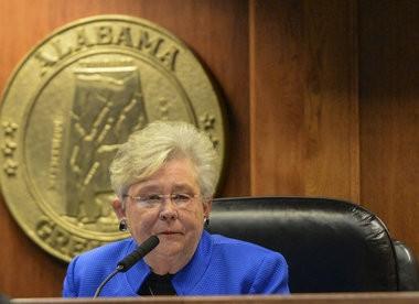 Alabama Lt. Gov. Kay Ivey presides over the Senate Tuesday, Feb. 2, 2016, during the first day of regular legislative session at the Statehouse in Montgomery, Ala. (Julie Bennett/jbennett@al.com)