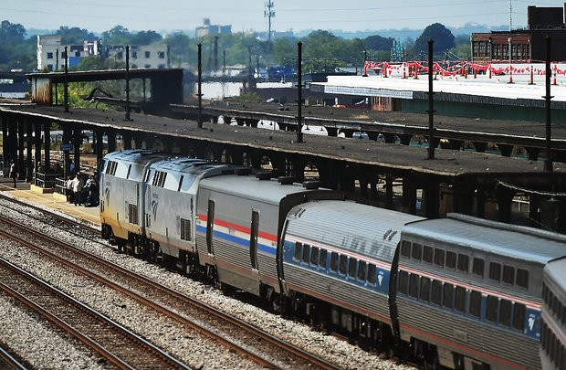 Passengers get ready to board the southbound Amtrak Crescent train at the Amtrak Station in Birmingham, Ala., Tuesday, September 27, 2016. The Crescent makes daily trips between New Orleans and New York. (Tamika Moore/tmoore@al.com)